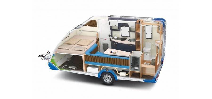 wohnwagen knaus sport fun 480 ql klima g nstig mieten. Black Bedroom Furniture Sets. Home Design Ideas